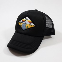 79 Point Get Lost Trucker Cap - Black