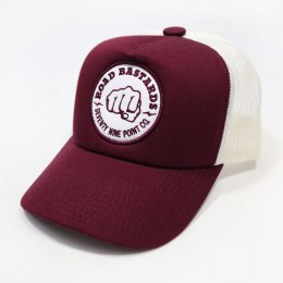 Czapka Trucker 79 Point Road Bastards - Bordowa