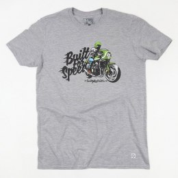 79 Point Built For Speed T-Shirt - Light Grey Melange