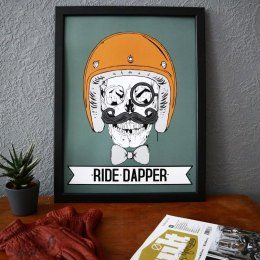 79 Point Ride Dapper - A3 Poster