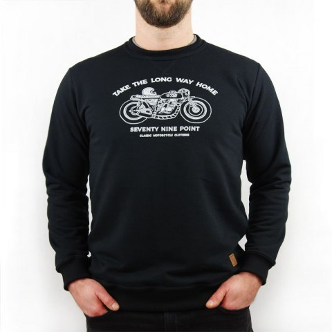 79 Point Take The Long Way Home Sweatshirt - Black