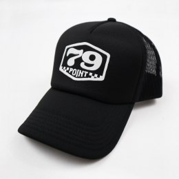 Czapka Trucker 79 Point Badge - Czarna