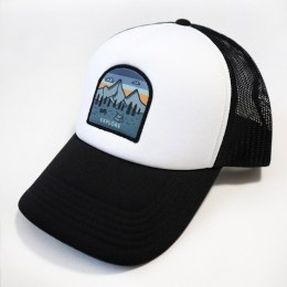 79 Point Explore Trucker Cap - White-Black