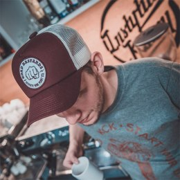 79 Point Road Bastards Trucker Cap - Burgundy