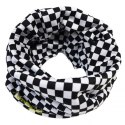 79 Point Racing Flag Fleece Neck Tube