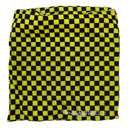 79 Point Yellow Flag Fleece Neck Tube