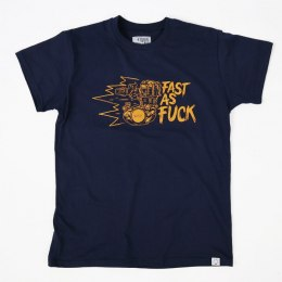 79 Point Fast As Fuck T-Shirt - Navy