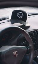79 Point Road Bastards Trucker Cap - Black