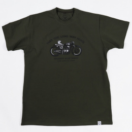 79 Point Take The Long Way Home T-Shirt - Military Green