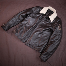 PREORDER 79 Point Aviator Leather Jacket