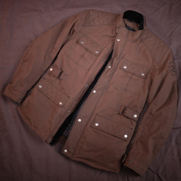 79 Point Walker Textile Wax Jacket